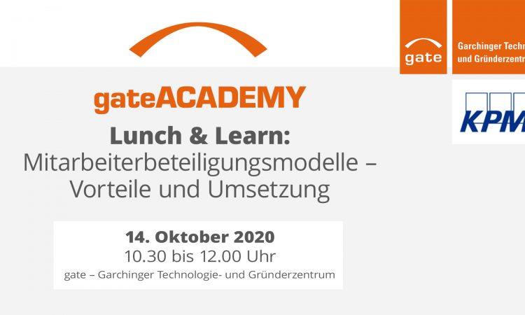 Lunch & Learn: Mitarbeiterbeteiligungsmodelle - Vorteile und Umsetzung