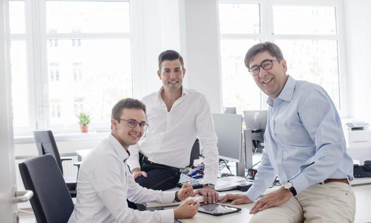 Das Team von G+D Ventures