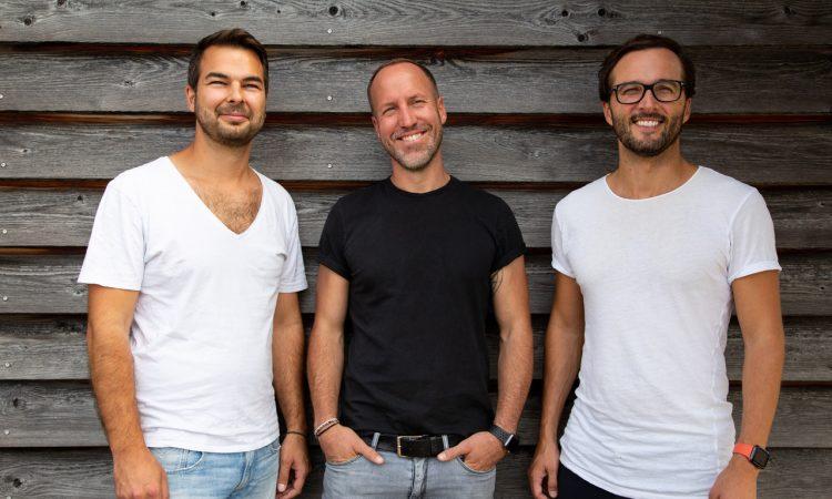 Die Everdrop-Gründer Daniel Schmitt-Haverkamp, Christian Becker, David Löwe (v.l.)