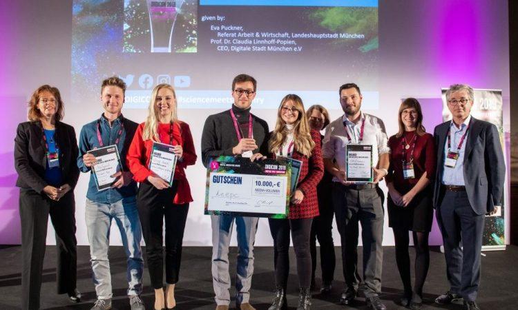 5. Münchner Digital Innovation Award: Jetzt noch schnell bewerben