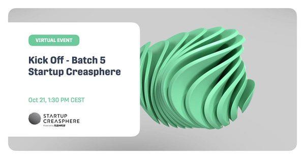 Startup Creasphere - Kick Off Batch 5