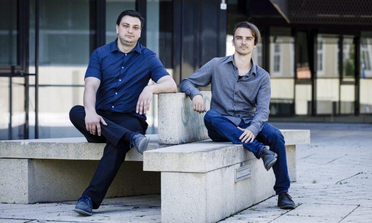 Die Gründer von Leftshift One: CEO Patrick Ratheiser und CTO Christian Weber (v. l.)