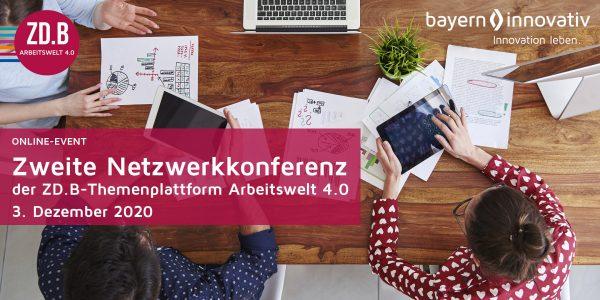 Zweite Netzwerkkonferenz der Themenplattform Arbeitswelt 4.0