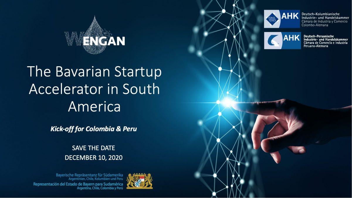 Virtual WENGAN Kick-Off - The Bavarian Startup Accelerator in Colombia & Peru
