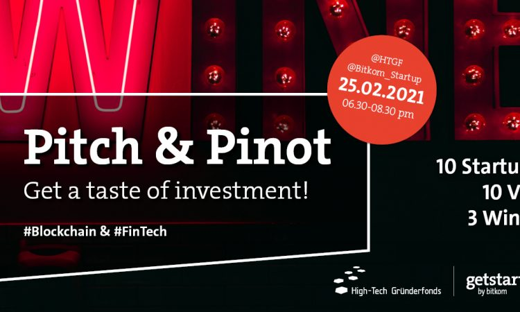 Pitch & Pinot #Blockchain #FinTech