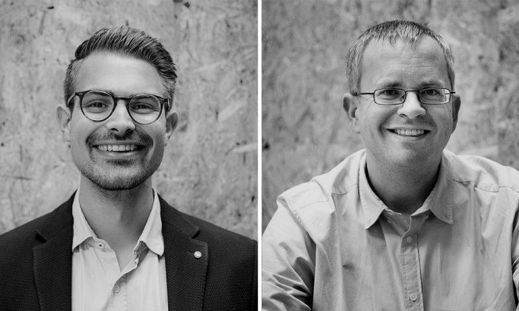 Johannes Stoffel und Marcus Lankenau (v.l.), Gründer von 2trde
