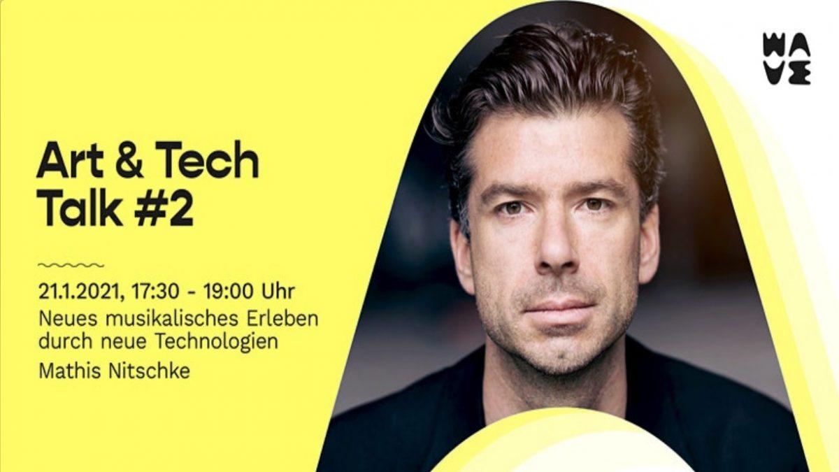 Wavelab Art & Tech Talk #2 mit Mathis Nitschke: Neues musikalisches Erleben