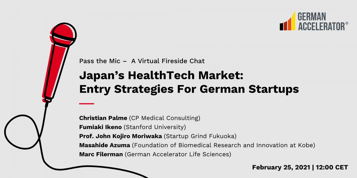 Pass the Mic - Japan's HealthTech Market: Entry Strategies For German Startups