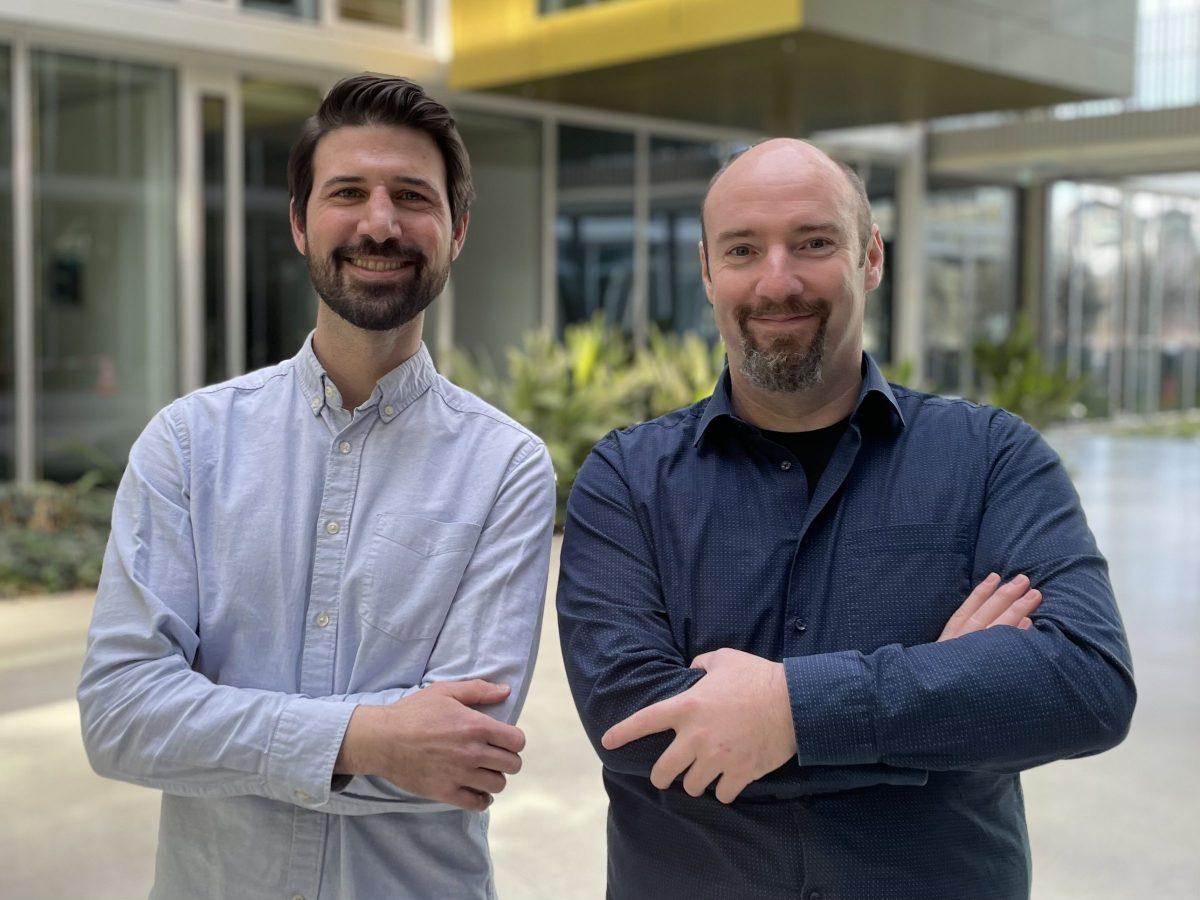 Die beiden Logabit Pipeforce Geschäftsführer Simon Ochs und Stephan Niedermeier (v.l.)
