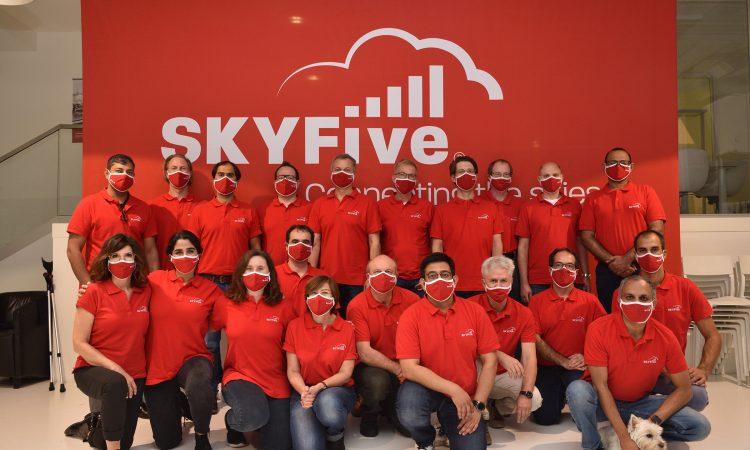 Skyfive: Breitband-Internet über den Wolken