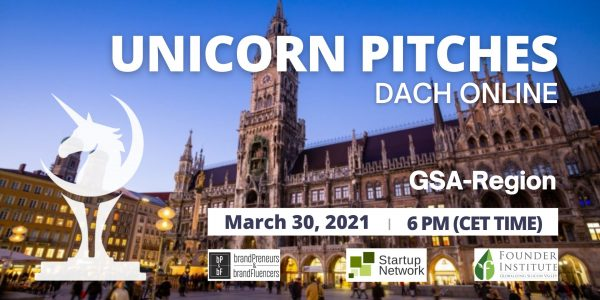 Unicorn Pitches DACH/GSA (Germany, Switzerland, Austria)