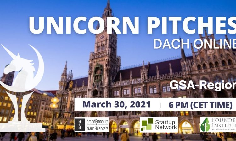 Unicorn Pitches DACH/GSA (Germany, Switzerland, Austria)