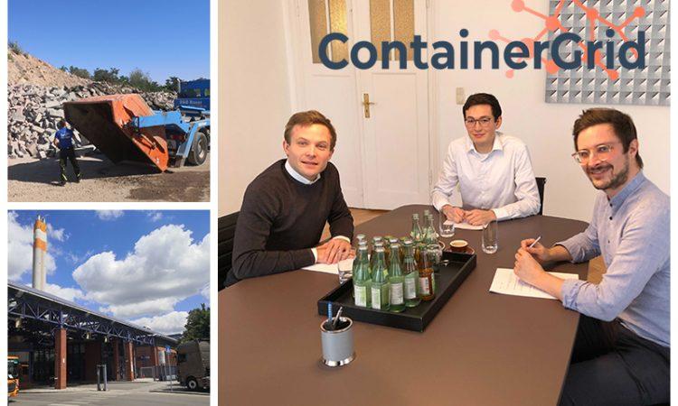 Cashwalk-Gewinner Containergrid