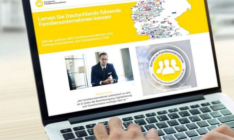 """Entrepreneurs Club: """"Familiengeführte Unternehmen bestimmen Deutschlands Wirtschaft"""""""