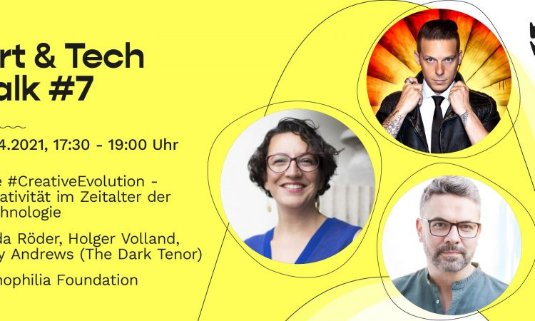 Wavelab Art & Tech Talk #7 Kreativität im Zeitalter der Technologie
