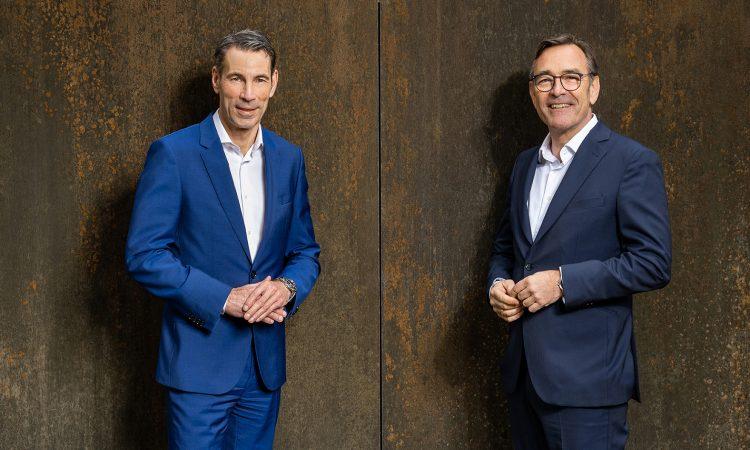 Die BayBG-Geschäftsführung: Peter Pauli und Peter Herreiner (v.l.)