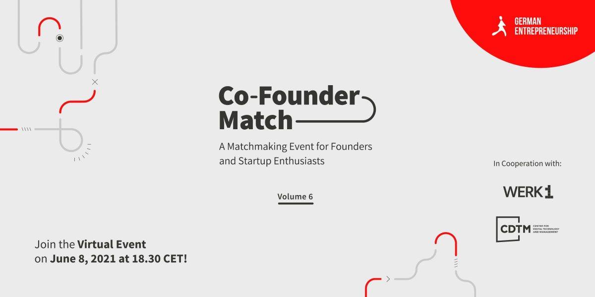Co-Founder Match Vol.6