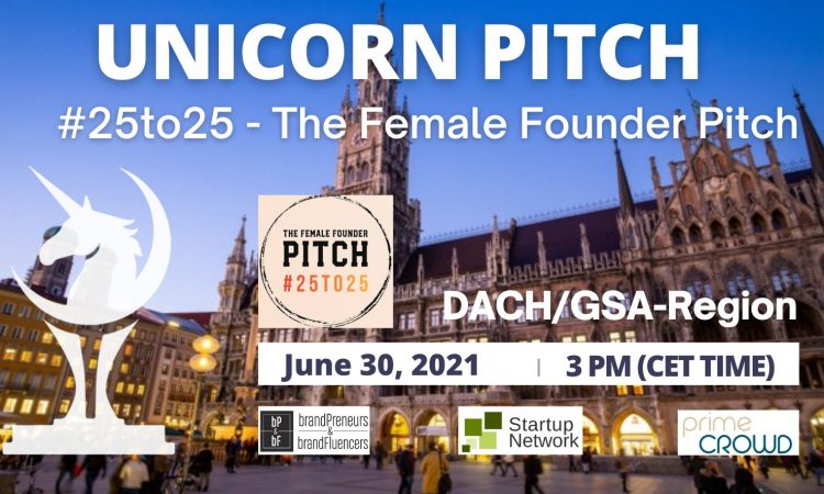 #25to25 - The Female Founder Pitch
