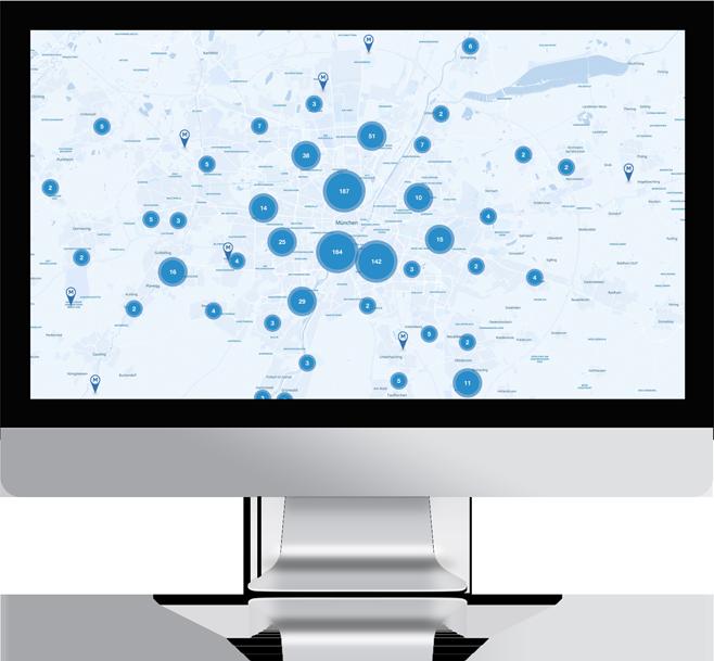 Munich Startup Map