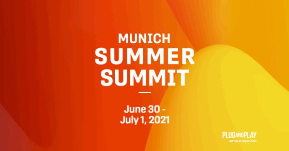 Plug and Play Munich Summer Summit 2021