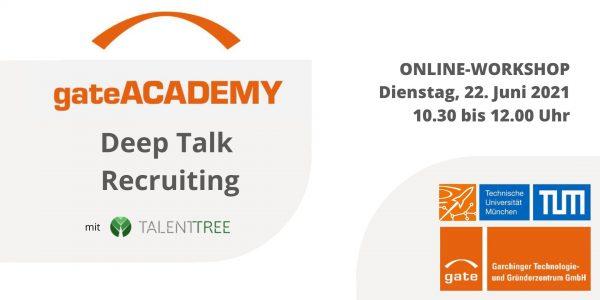 gateACADEMY - Deep Talk Recruiting