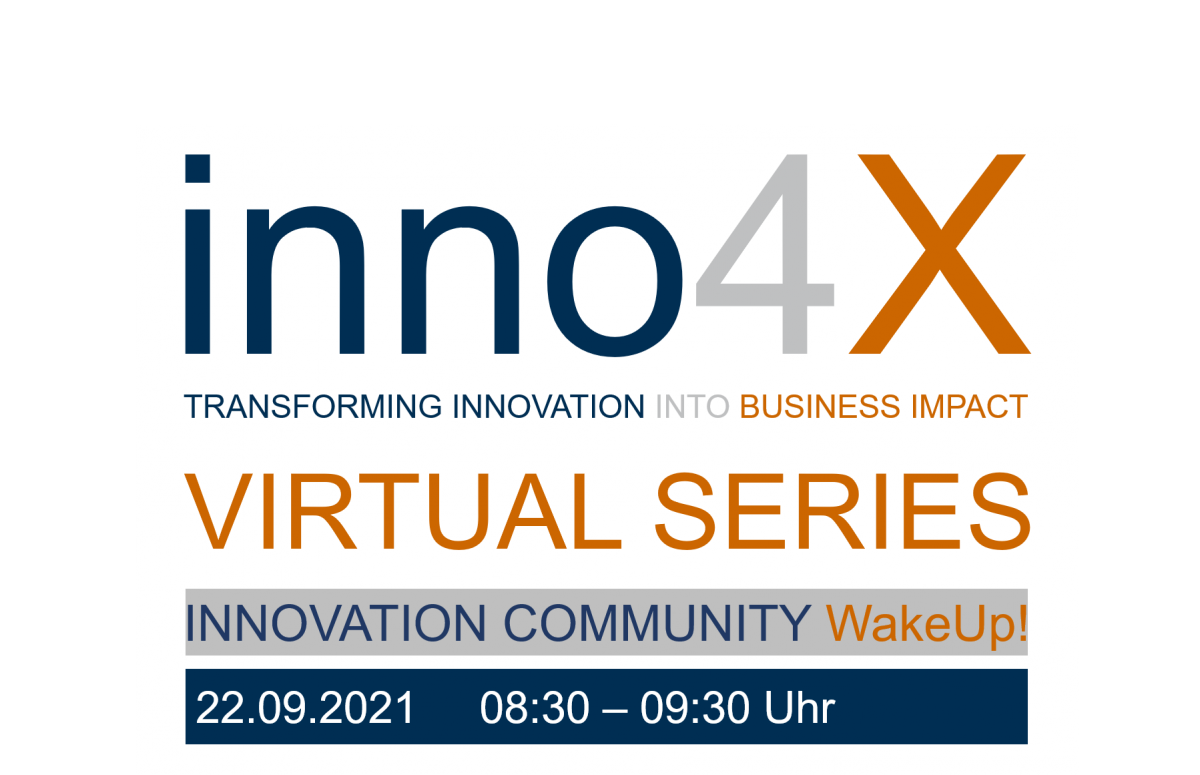 inno4x VIRTUAL SERIES: WakeUp! - Kollaborative Innovation: JA!!! Und dann richtig!