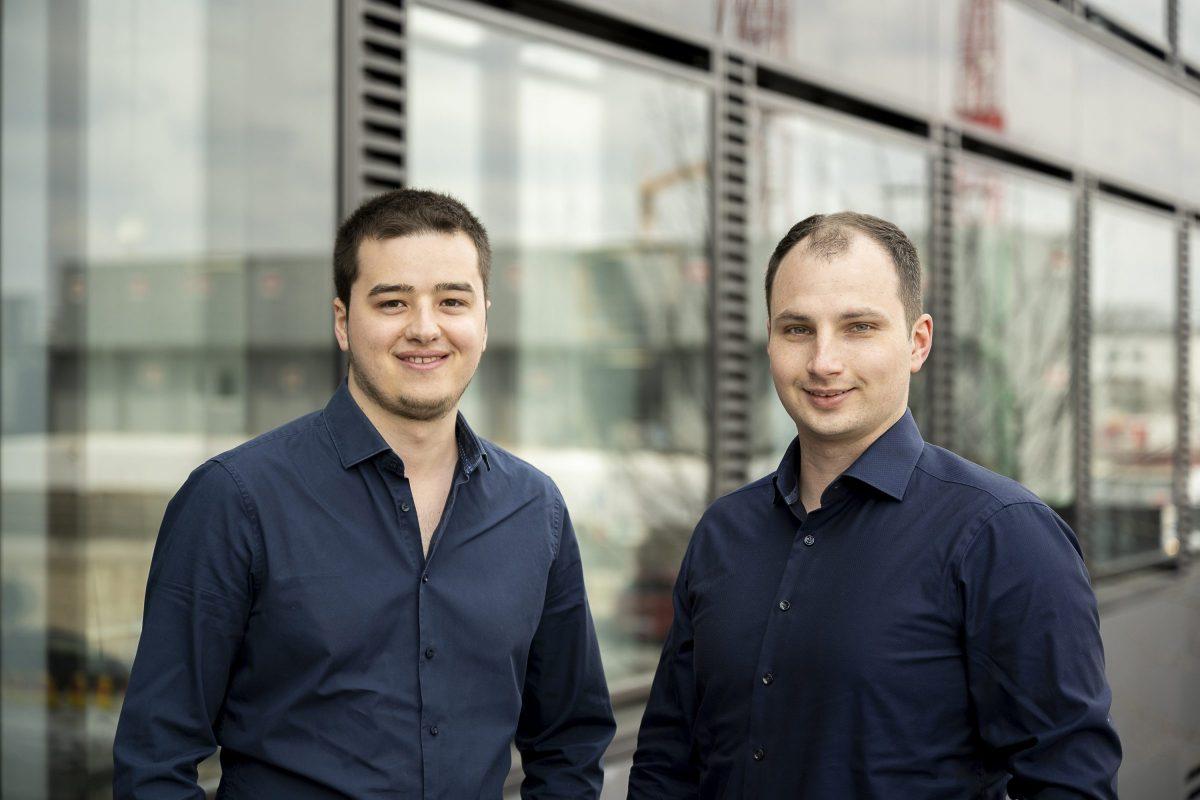 Die Edjufy-Gründer Laurenz Glück und Marcel Walberer (v.l.)