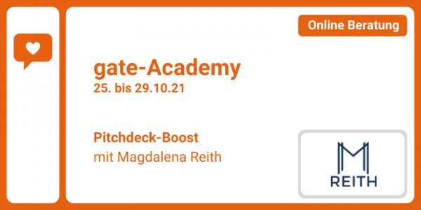 gate-Academy - Pitchdeck Boost