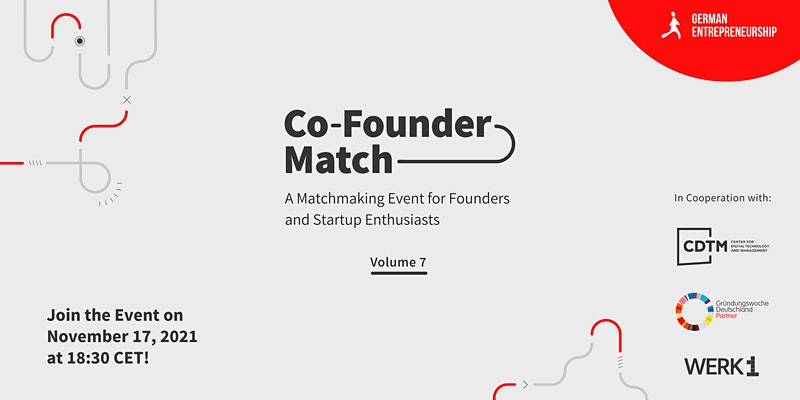 Co-Founder Match Vol.7