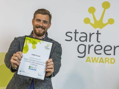 Sinn Power gewinnt Global Ideas Award